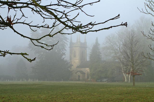 Misty England