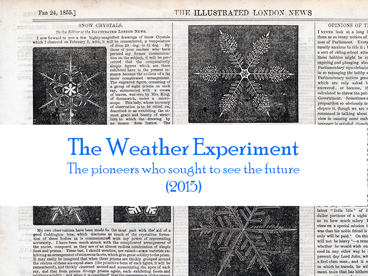 The Weather Experiment book two