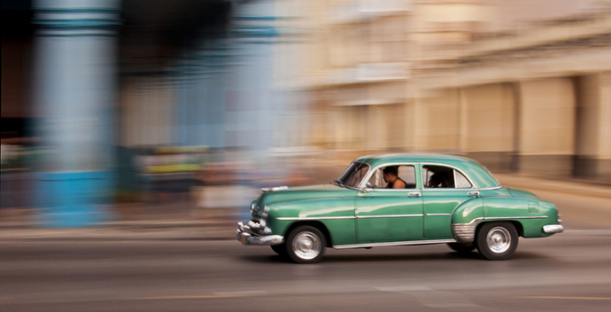 Driving Havana by Peter Moore
